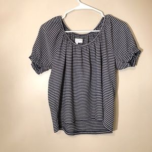 Texture & Thread Madewell | Striped Top Sz M